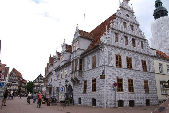 Det gamle rådhus i Celle