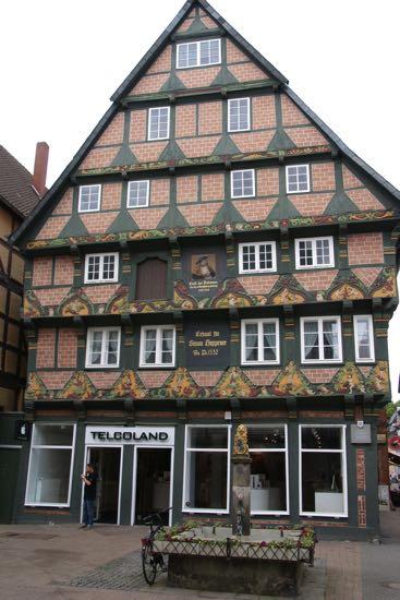 Huset Hoppenerhaus i Celle