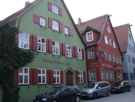 Hotel Goldenes Lamm i Dinkelsbühl