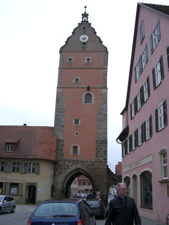 En af byportene i Dinkelsbühl