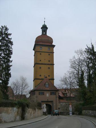 Byporten Segringer Tor i Dinkelsbühl