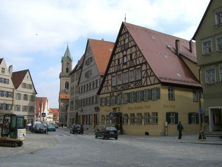 Bybillede fra Dinkelsbühl