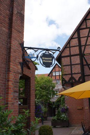 Biergarden i Lüneburg