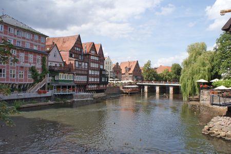Kanal i Lüneburg