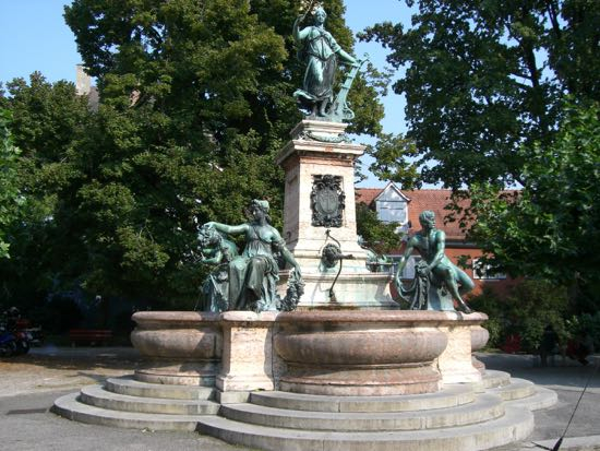 Fontæne i Lindau