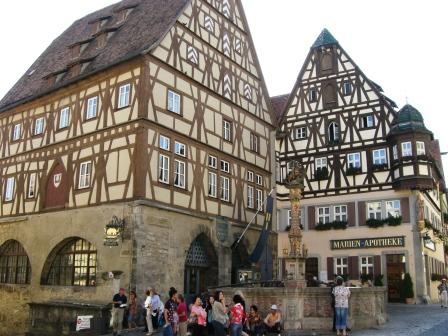 Georgs brønden i Rothenburg