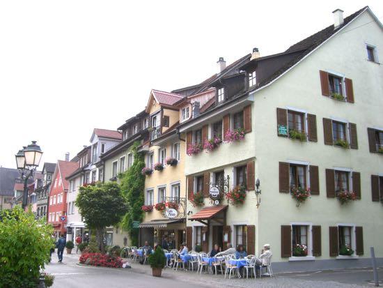 En af Meersburgs hyggelige gader