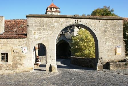 Spitalbastei i Rothenburg ob der Tauber