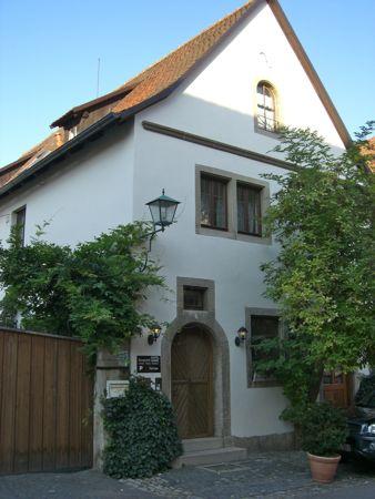 Hotel Kreuzerhof i Rothenburg ob der Tauber