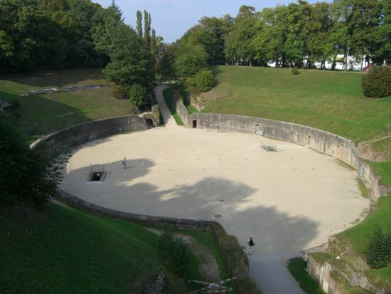 Amfiteatret i Trier