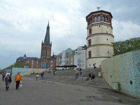 Billed af Düsseldorf i Tyskland
