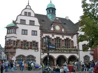 Rådhuset i Freiburg