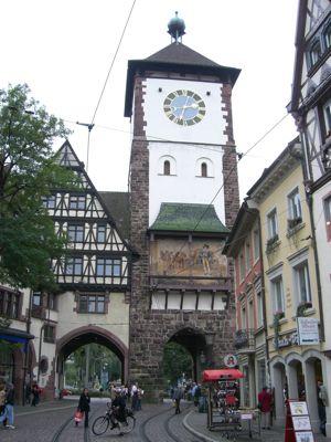 Byport i Freiburg, Tyskland