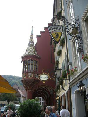 Gammel Handelshuse i Freiburg
