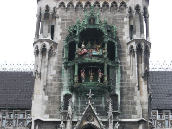 Neues Rathaus klokketårn