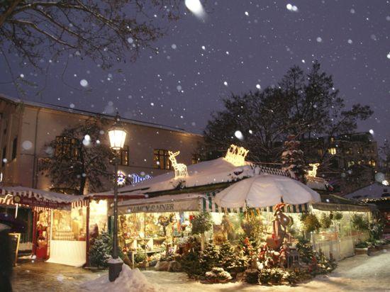 Julemarked på Viktualienmarkt