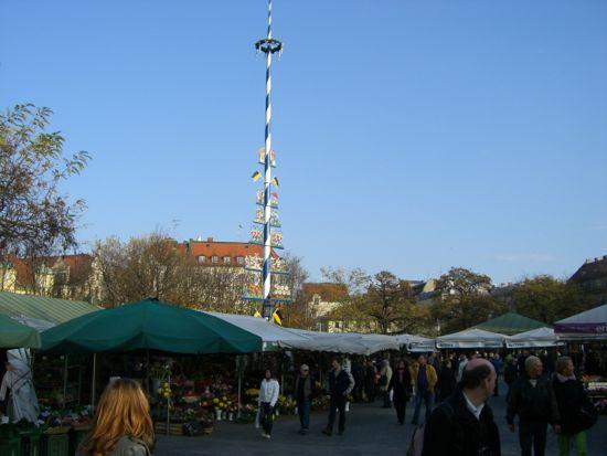 Viktualienmarkt i München