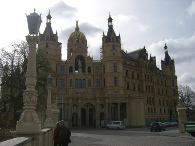 Slottet i Schwerin