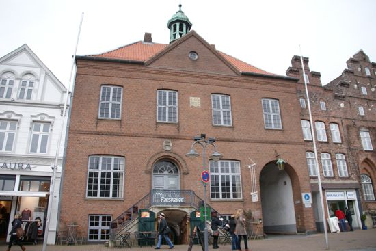 Gammel rådhus i Husum