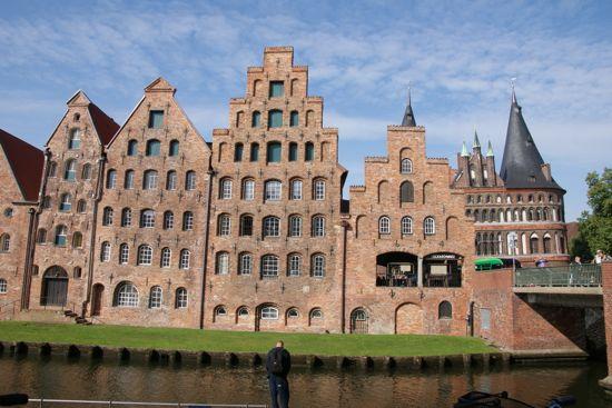 Pakhusene Salzspeicher i Lübeck