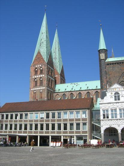 Marienkirche i Lübeck