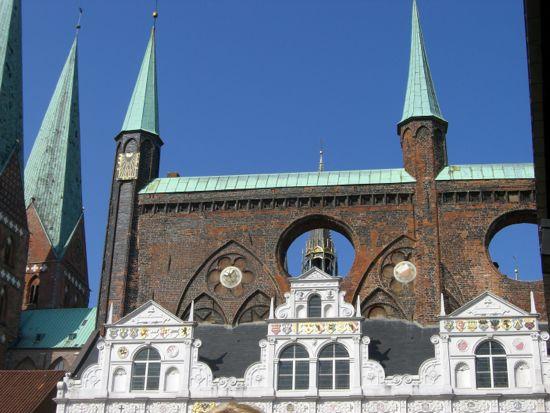 Stemningsbillede fra Lübeck i Tyskland