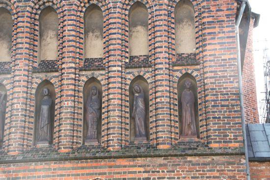 Vestfacaden på St. Katharinen i Lübeck