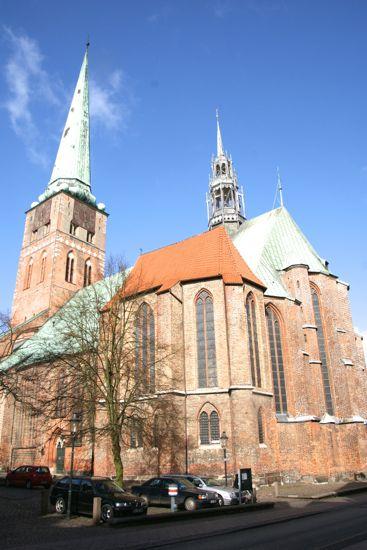 Skt.Jacobi kirke i Lübeck