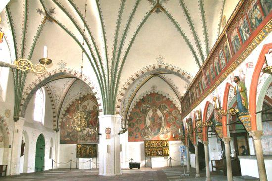 Forhallen i Heiligen Geist Hospital