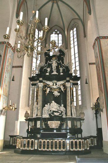 Alteret i Skt. Jacobi kirke