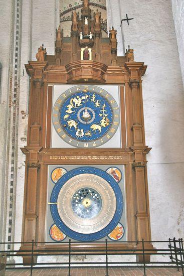 Astronomiske ur i Marienkirche