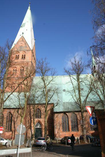 St. Aegidien kirke i Lübeck