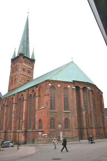 Petrikirken i Lübeck