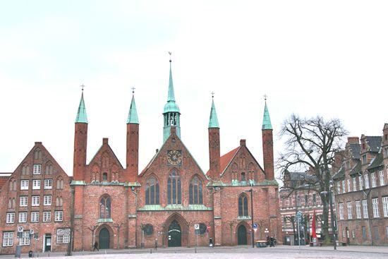 Heiligen Geist Hospital i Lübeck