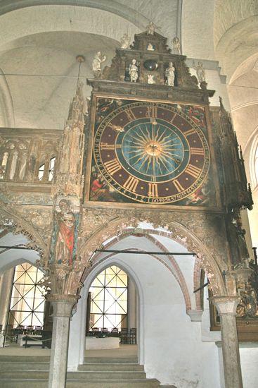 Uret i Domkirken i Lübeck