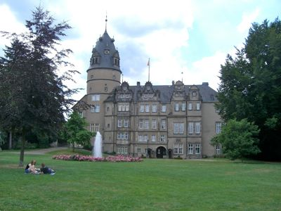 Slottet i Detmold