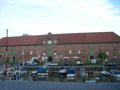 Kanalpakhus i Tönning