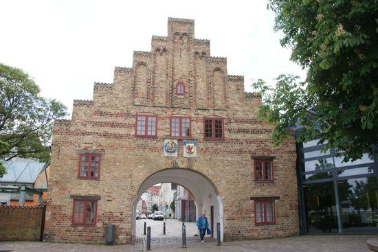 Byporten Nordertor i Flensborg