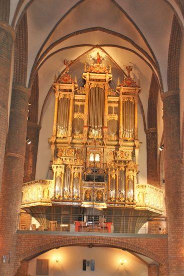 Orglet i Skt. Nikolai kirke i Flensborg
