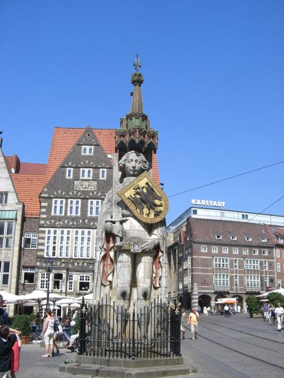 Statuen Roland i Bremen