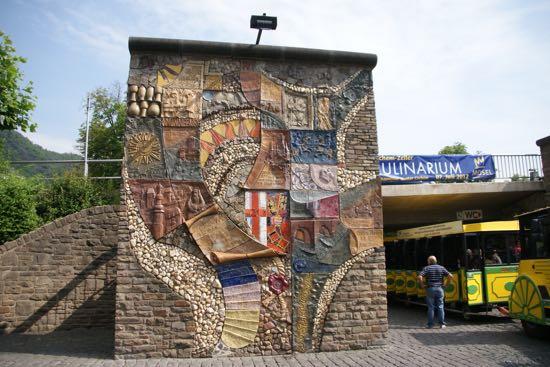 Mosaik væg i Cochem