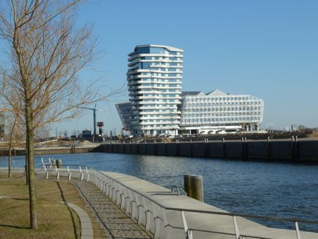 Hafen City i Hamburg