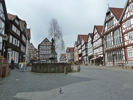 Marktplatz i Fritzlar