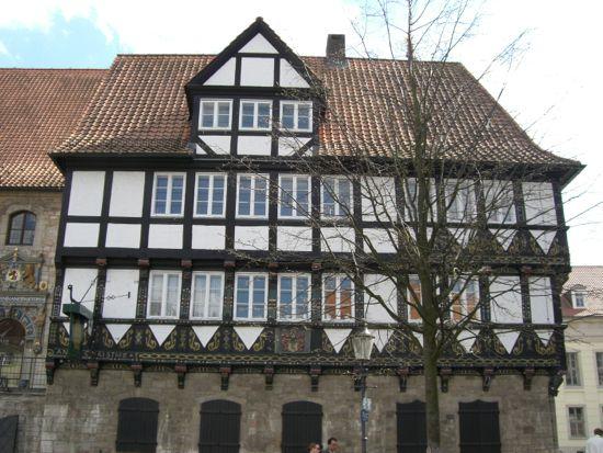 Bindingsværk hus i Braunschweig