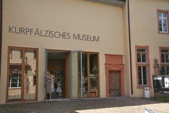 Kurpfälzisches Museum i Heidelberg