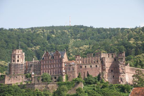 Slottet i Heidelberg