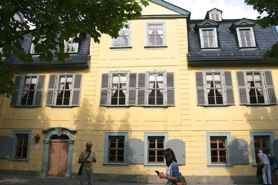 Schiller Hause i Weimar