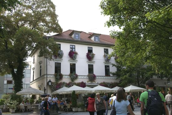 Byen Weimar i Tyskland