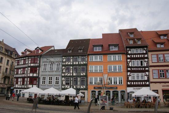 Erfurt historiske gamle bydel
