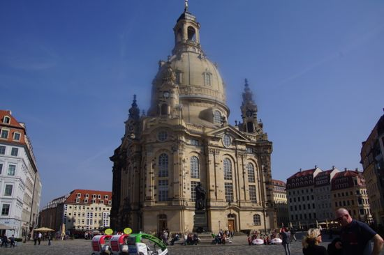 Fraunkirche i Dresden